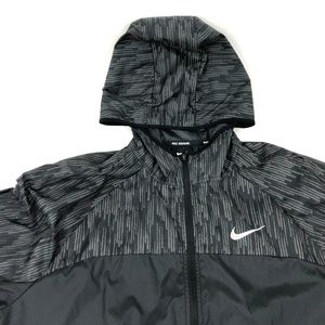 Nike Running Jacket Shield Flash Vented Hooded